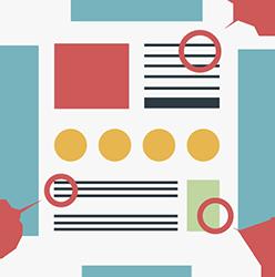 אייקון עיצוב עמודים עסקיים